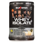 Six Star Professional Strength Whey Isolate Elite Series, French Vanilla Cream- 1.5 lbs
