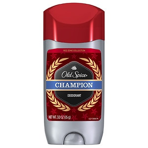 Old Spice Red Zone Men's Deodorant , Champion- 3 oz