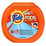 Tide Pods Laundry Detergent Pacs, Ocean Mist- 66 ea