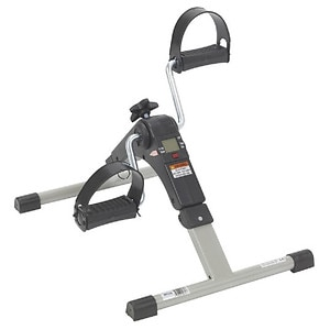 Drive Medical Folding Exercise Peddler with Electronic Display- 1 ea
