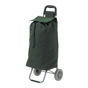 Lifestyle Essentials All Purpose Rolling Shopping Utility Cart, Green