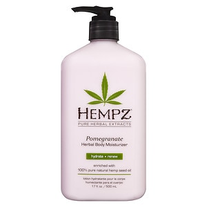 Hempz Herbal Body Moisturizer, Pomegranate, 17 fl oz