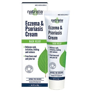 Natralia Eczema & Psoriasis Cream- 2 oz