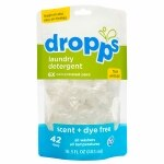 Dropps Laundry Detergent, 42-Load Pouch, Scent & Dye Free