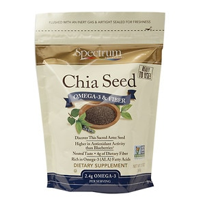 Spectrum Essentials Chia Seed Omega-3 & Fiber- 12 oz