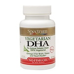 Spectrum Essentials Vegetarian DHA, Softgels