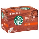 Starbucks K-Cups, Breakfast Blend, 10 pk- .44 oz
