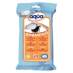Cleanis Aqua Pre-Moistened Wash Glove, Shampoo- 12 ea