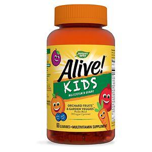 Nature's Way Alive! Multivitamin for Children's Gummies- 60 ea