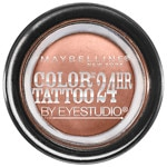Maybelline Eye Studio Color Tattoo 24Hr Eyeshadow, Bad to The Bronze- .14 oz