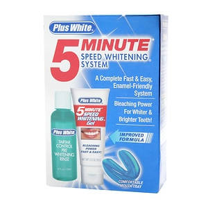 Plus White 5 Minute Speed Whitening System- 1 kit