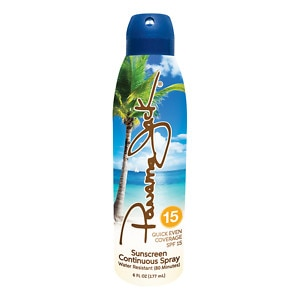 Panama Jack Continuous Clear Sunscreen Spray SPF 15- 6 fl oz
