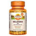 Sundown Naturals Melatonin 5mg Extra Strength, Tablets