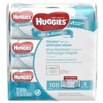 Huggies One & Done Baby Wipes, 3 Soft Packs, Cucumber & Green Tea