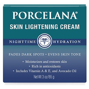 Porcelana Skin Lightening Night Cream- 3 oz