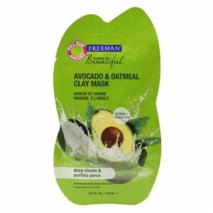 Freeman Feeling Beautiful Facial Clay Mask, Avocado & Oatmeal- .5 fl oz