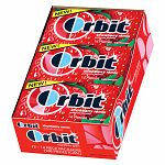 Orbit Sugar Free Gum, Strawberry Remix, 12 pk- 14 ea