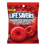 LifeSavers Candy, Individually Wrapped, Wild Cherry- 6.25 oz