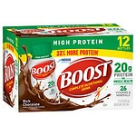 Boost High Protein Complete Nutritional Drink, Bottles, Rich