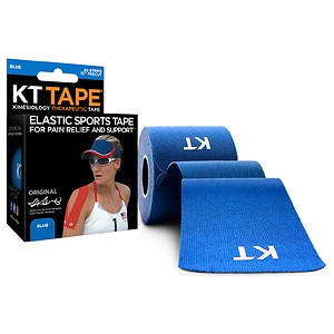 KT Tape Kinesiology Therapeutic Tape Precut Strips, Blue