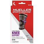 Mueller Sport Care 4-Way Stretch Knee Support, Moderate Support,