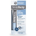 ScarAway Advanced Formula Scar Gel 100% Silicone for Scars- .35 oz