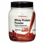Walgreens Whey Protein Chocolate