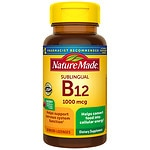 Nature Made Vitamin B-12 1000mcg, Sublingual Tabs- 50 ea