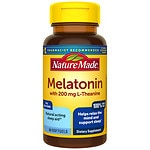 Nature Made Melatonin + L-Theanine 200mg, Softgels