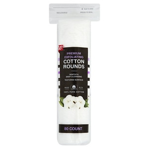 Studio 35 Exfoliating Cotton Rounds- 80 ea