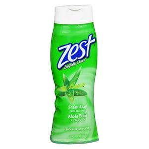 Zest Body Wash, Aloe- 18 fl oz
