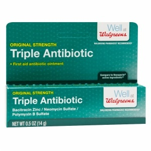 Walgreens Triple Antibiotic Ointment- .5 oz