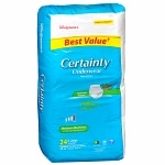 Walgreens Certainty Unisex X Large Underwear Maximum Absorbency