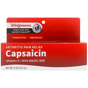 Walgreens Capsaicin Cream, 1.5 oz
