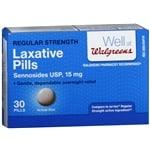 Walgreens Unflavored Laxative Pills- 30 ea
