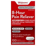 Walgreens Acetaminophen 8 Hour 650Mg, Caplets
