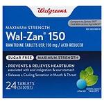 Walgreens Wal Zan 150Mg Cool Mint Tablets- 24 ea