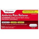 Walgreens Acetaminophen 650Mg Caplets- 50 ea