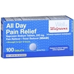 Walgreens All Day Pain Relief, Tablets- 100 ea