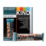 KIND Nuts & Spices Bars, Dark Chocolate Nuts & Sea Salt, 12 pk- 1.4 oz