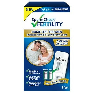 SpermCheck Fertility Home Test for Men- 1 kit