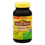 Nature Made St. John's Wort, 450mg Extract, Tablets- 40 ea