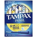 Tampax Pearl Tampons, Scented, Regular- 18 ea