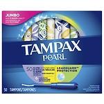 Tampax Pearl Tampons Triplepack, Unscented, Lite Regular Super