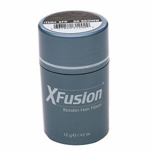 XFusion Keratin Hair Fibers, Dark Brown- .42 oz