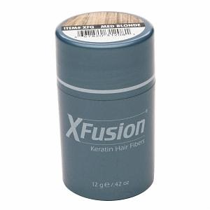 XFusion Keratin Hair Fibers, Medium Blonde