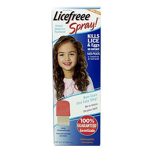 Licefreee! Non Toxic Head Lice Spray