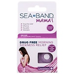 Sea-Band Mama Drug Free Morning Sickness Relief Wrist Band