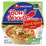 Nongshim Hot Noodle Bowl