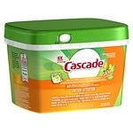 Cascade ActionPacs Dishwasher Detergent, Gain- 60 ea